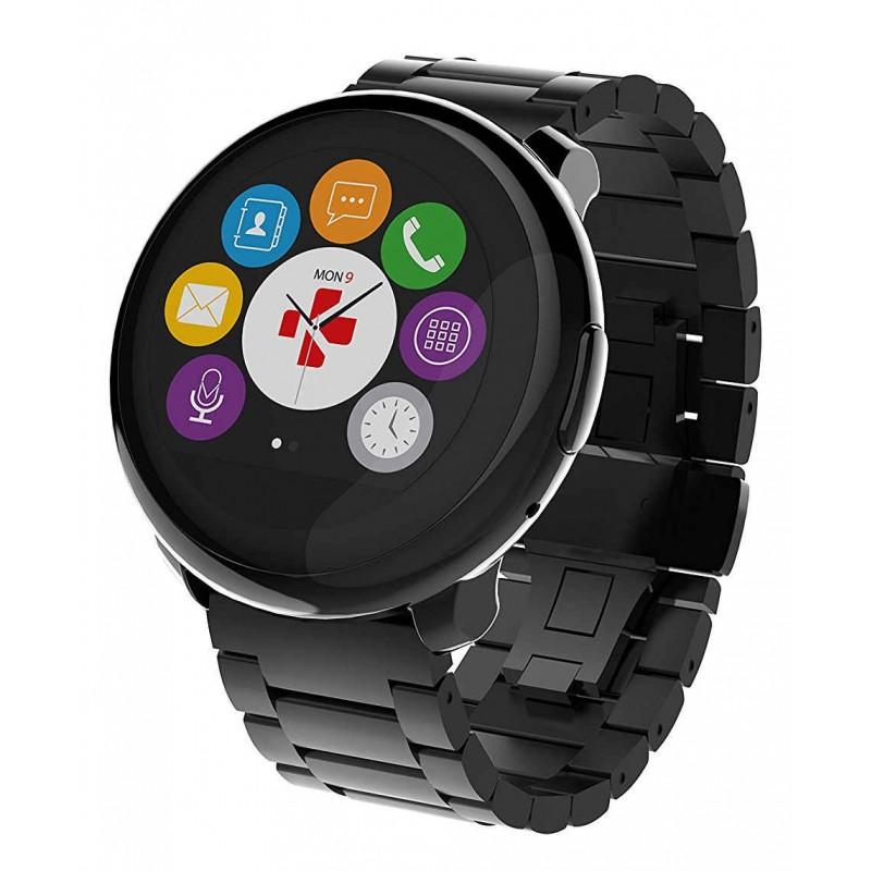 montre connectée mykronoz zeround premium bracelet métal - montre